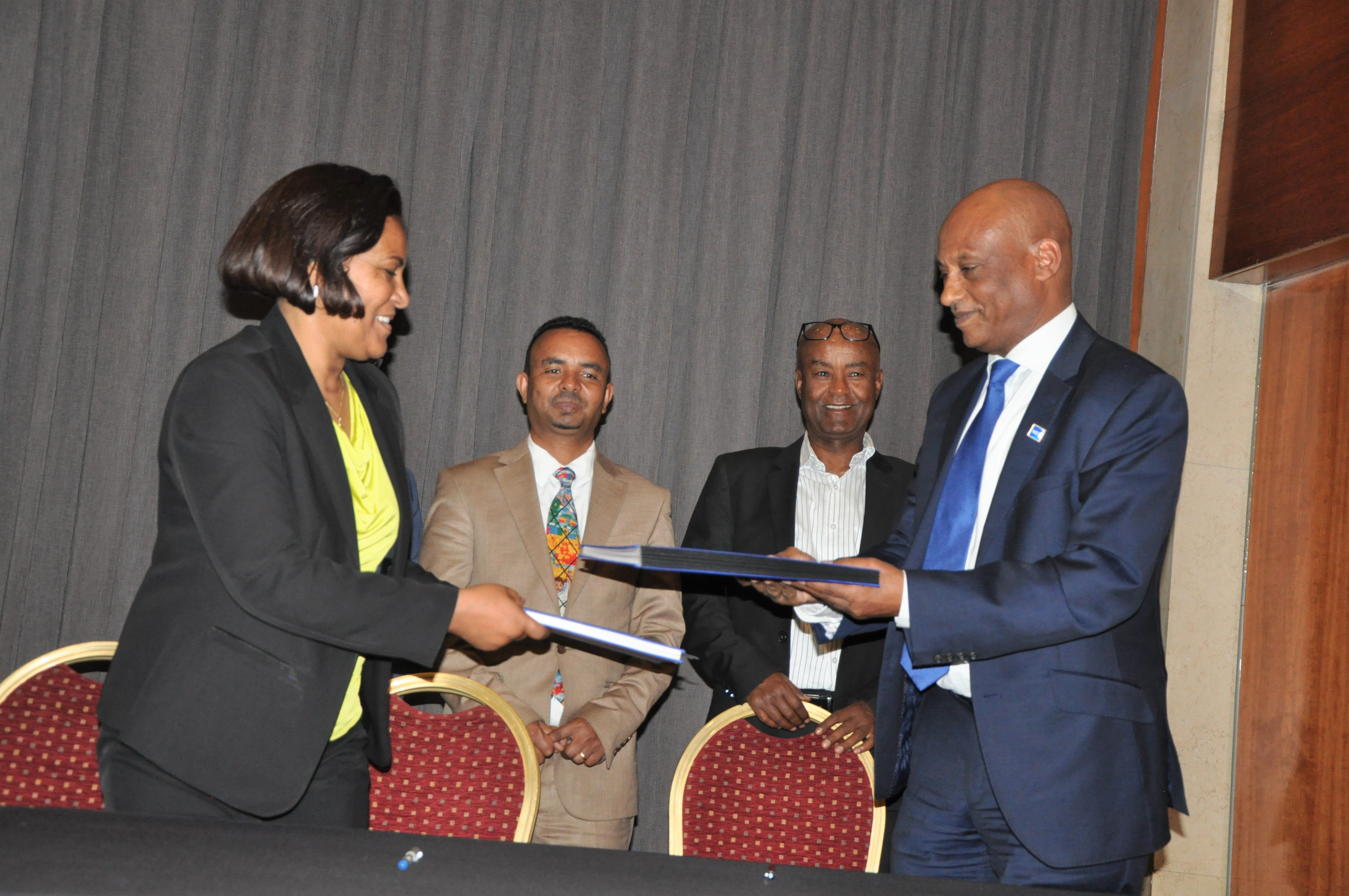 HST & EMI (Ethiopian Management Institute) signed on MoU
