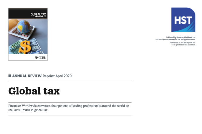 GLOBAL TAX  ANNUAL REVIEW 2020