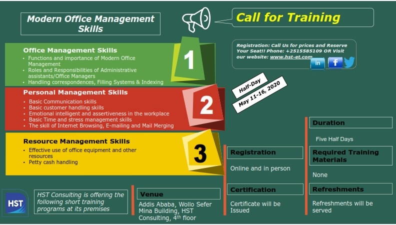 Call for Training